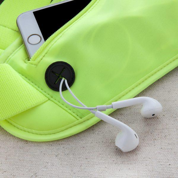 Спортивная сумка-пояс с карманом для бутылки ROMIX