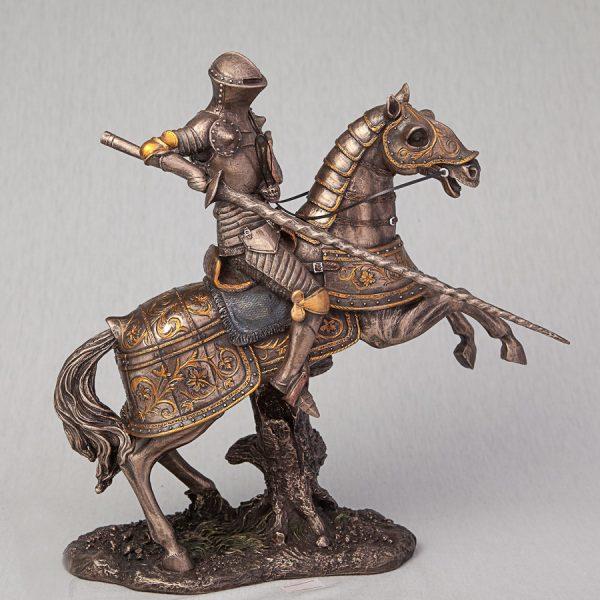 Статуэтка «Рыцарь на коне» Veronese