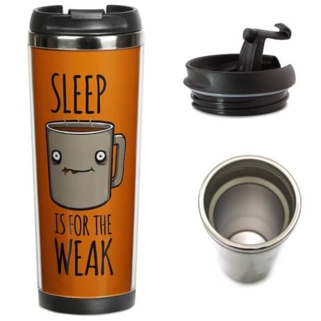 Термочашка Ziz «Сон для слабаков»