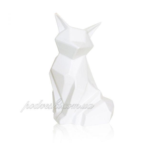 Керамическая статуэтка «Лиса Полигональная» Eterna