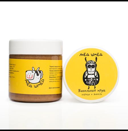 Баночка вкусного меда «Ванильный Хрущ» Мёд-шмёд