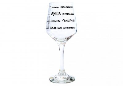 Бокал PAPAdesign «Шкала опьянения»