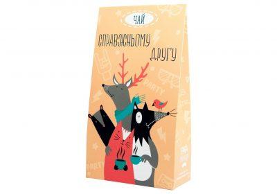 Чай в коробке PAPAdesign «Справжньому другу»