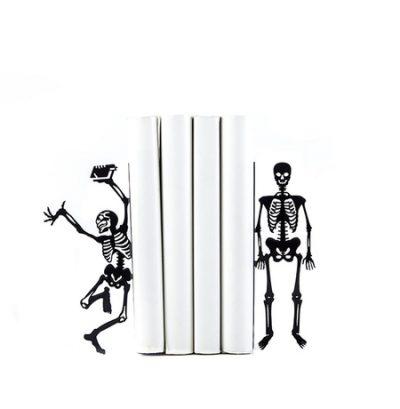 Держатели для книг «Скелеты»