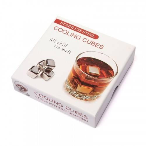 Камни для виски из стали (4шт.)