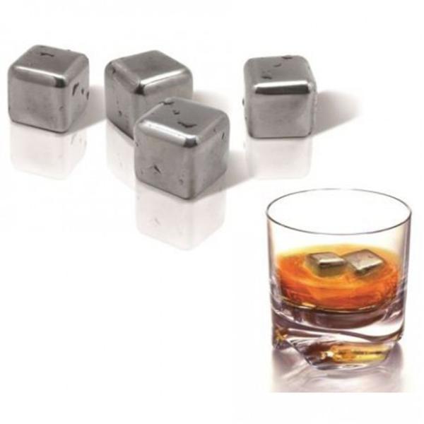 Набор стальных камней для виски (4 шт)