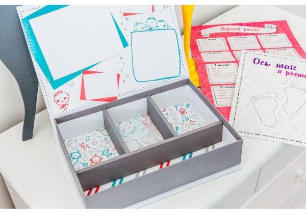 Коробочка для воспоминаний «KiddieBox» Girl