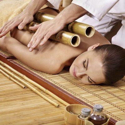 Креольский массаж «Энергия бамбука»