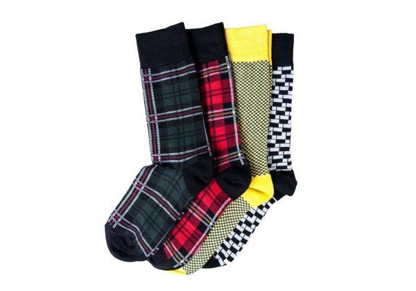 Подарочный набор носков «Яркие» Rollo Wolf