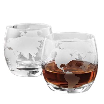 Набор стаканов для виски «Вокруг Света»