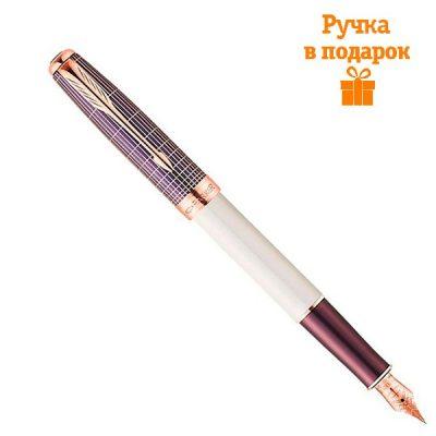Перьевая ручка Parker «Sonnet Contort Purple Cisele»