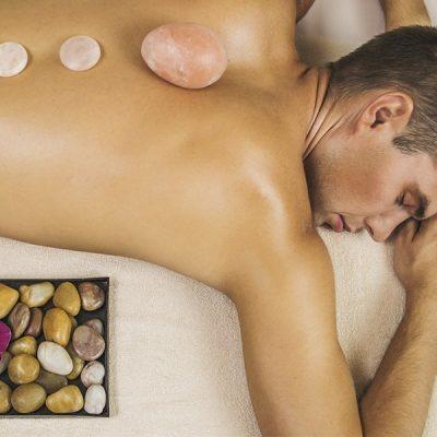 Стоун массаж для мужчин «Стойкость гор»