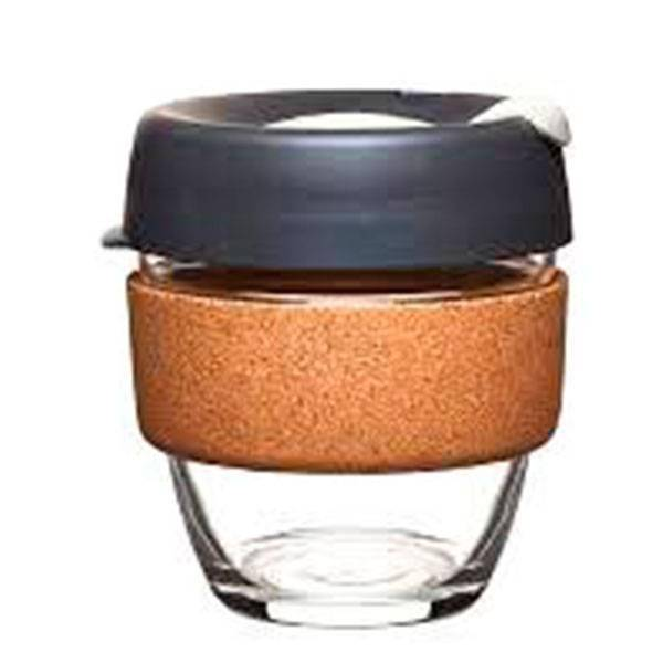 Термокружка KeepCup из стекла «Brew Cork Press Small»