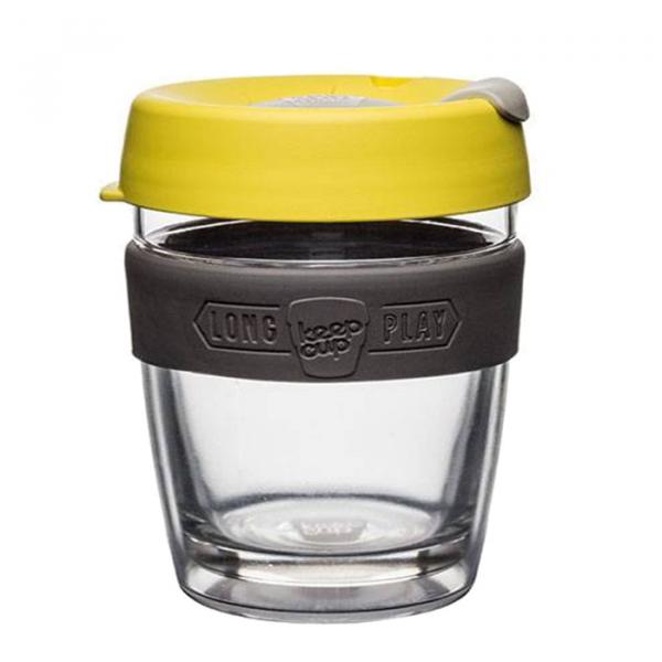 Термокружка KeepCup «Medium Brew Honey LongPlay» с двойным стеклом