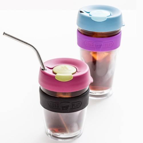 Термокружка KeepCup «Medium Brew Lavender LongPlay» с двойным стеклом
