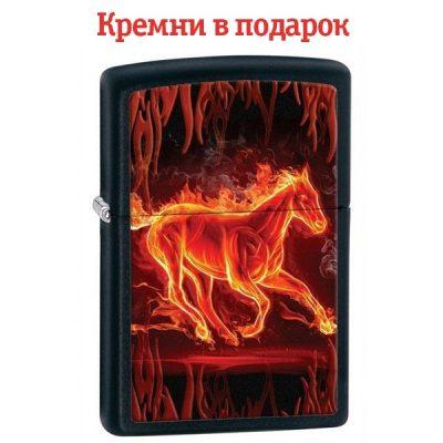 Зажигалка Zippo «Flaming Horse»