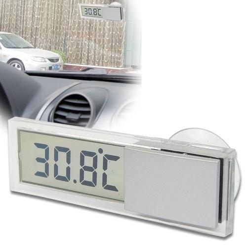 Автомобильный термометр с присоской на стекло
