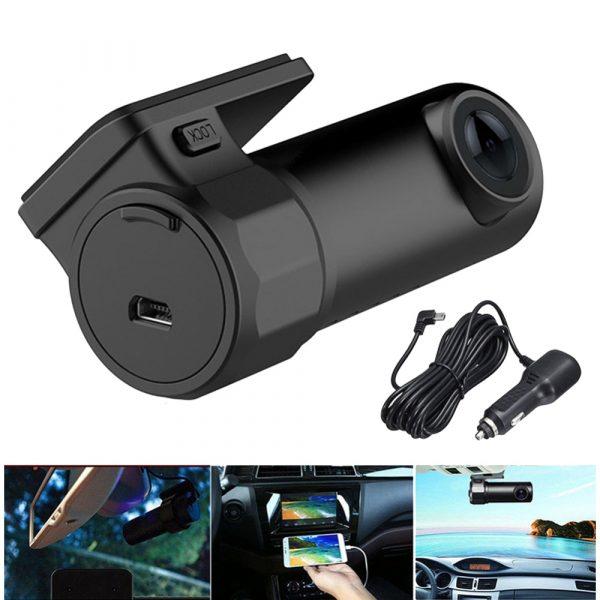 Автомобильный видеорегистратор с WiFi модулем HD 720p