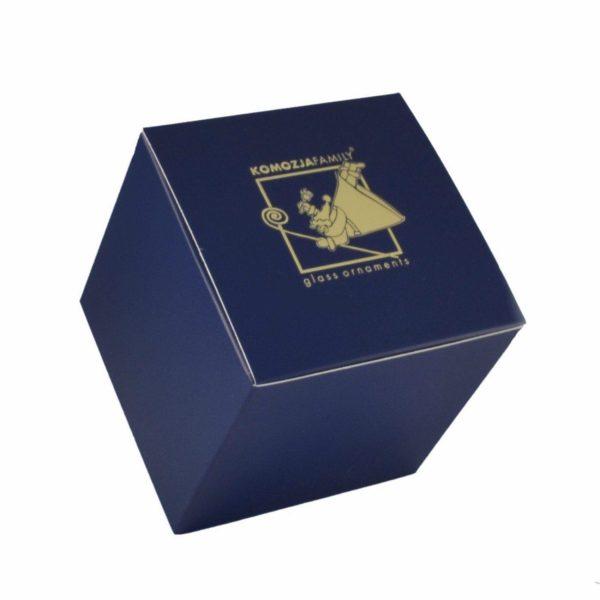 Елочная игрушка - символ 2020 г. «Мышка на сыре» Komozja