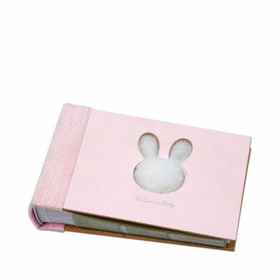 Фотоальбом «Меан» розовый