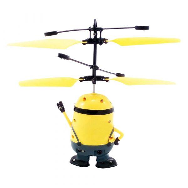 Интерактивная игрушка «Летающий миньон» с пультом