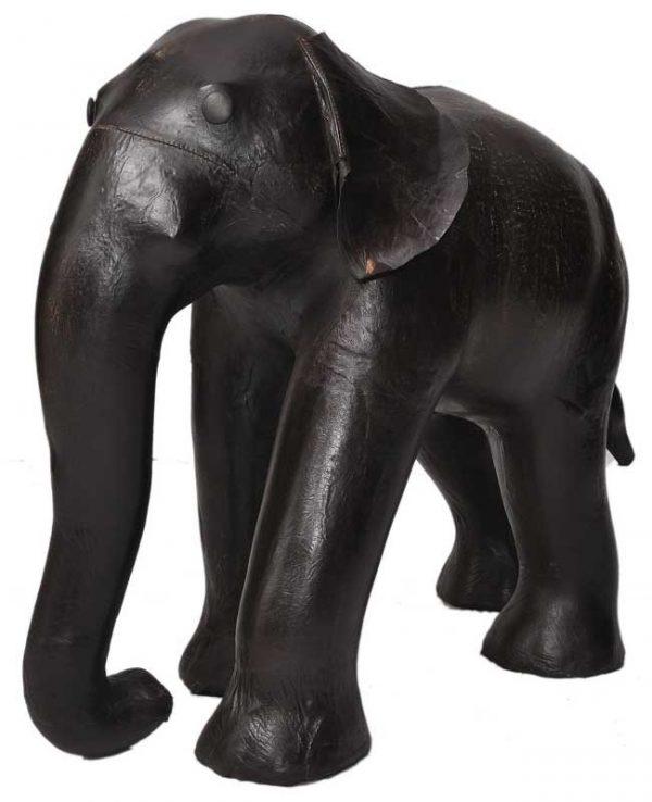 Кожаный пуф «Слон» Andrew Martin