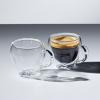 Кружки для кофе «Le'Xpress» KitchenCraft с двойным стеклом (2 шт)