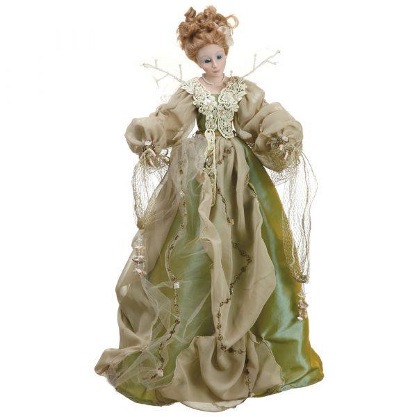 Кукла «Фея» оливковая