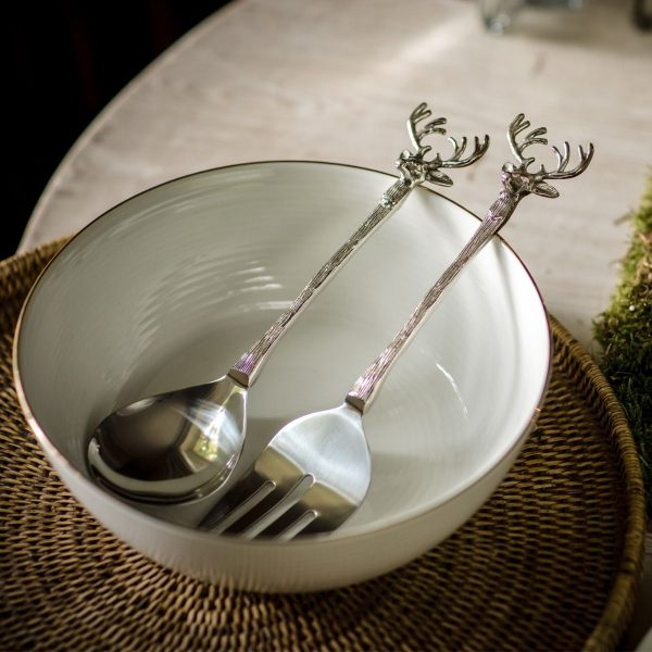 Ложка и вилка для салата «Олень» Culinary Concepts