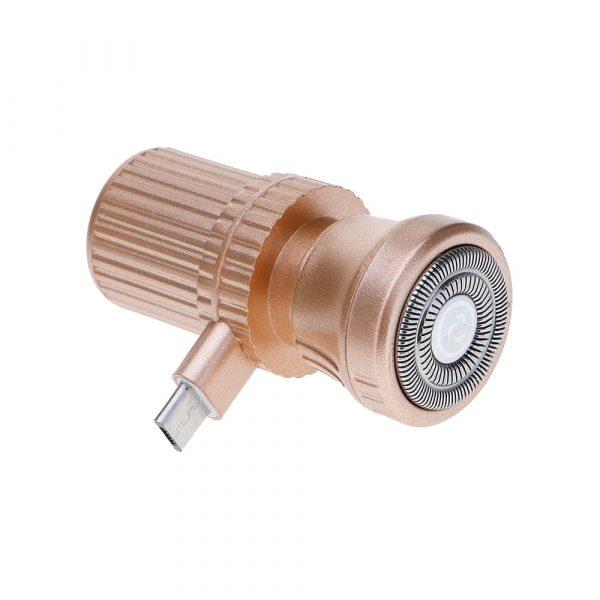 Micro USB бритва для смартфона (мини триммер для бороды)