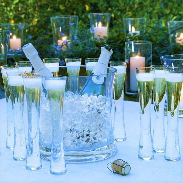 Набор: ведерко для льда + бокалы для шампанского «Moya» LSA