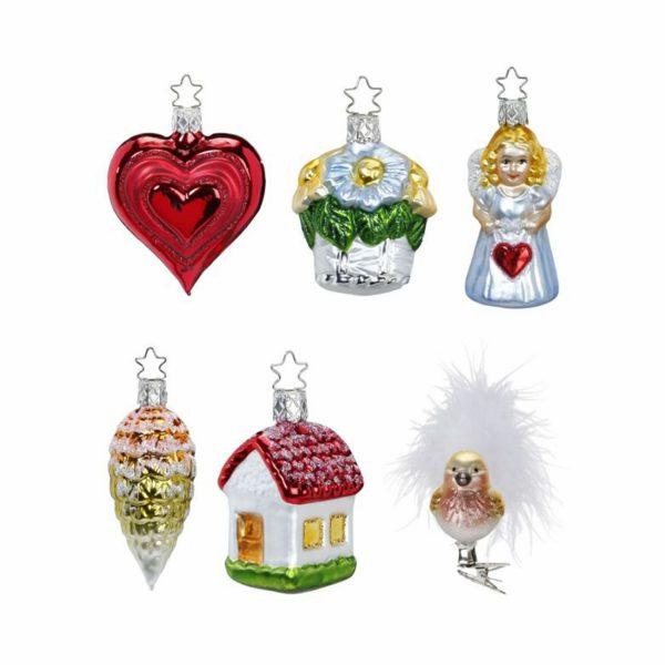 Набор елочных игрушек «Свадебный Inge» Glas