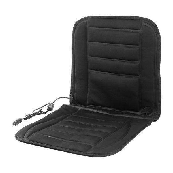 Накидка на сиденье для автомобиля с подогревом от прикуривателя