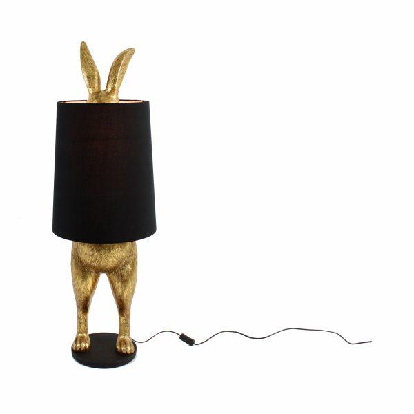 Настольная лампа «Кролик прячущийся»