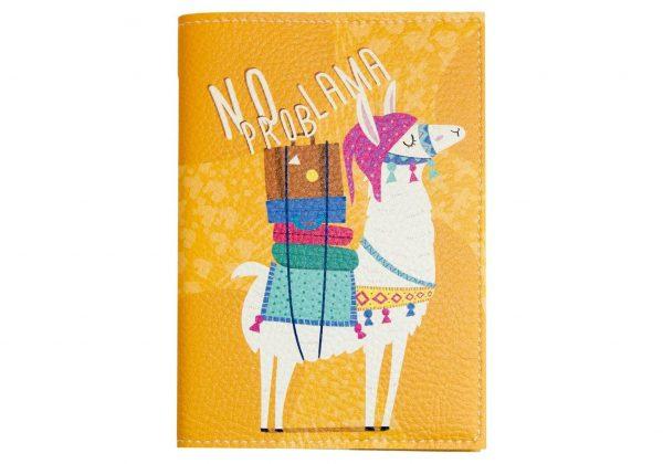 Обложка на паспорт PAPAdesign «No prob lama»