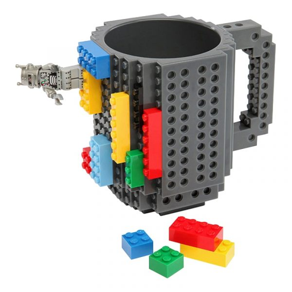 Оригинальная чашка в виде конструктора