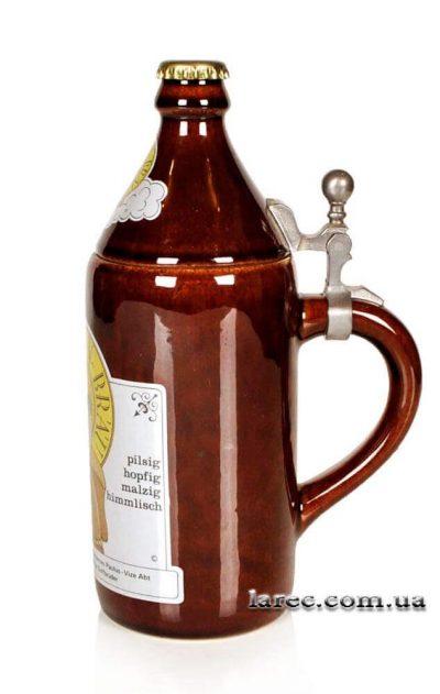 Оригинальная пивная кружка «Бутылка пива» Paulchen-Bräu