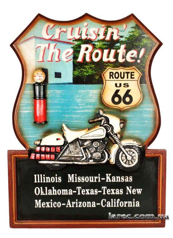 Панно на стену «Route 66»