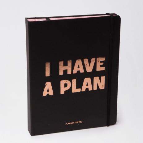 Планер I have a plan черный