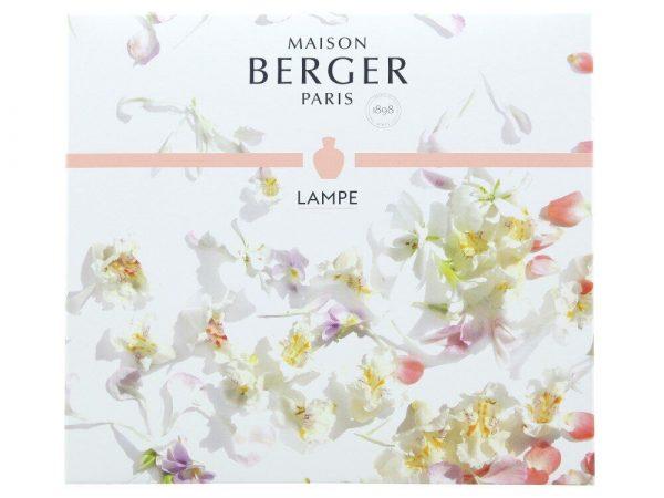 Подарочный набор лампа Берже «Букет Либерти» Maison Berger из коллекции «Poesy»