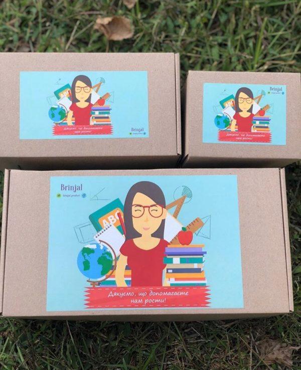 Подарочный набор с 2-мя растущими карандашами «Учителю»