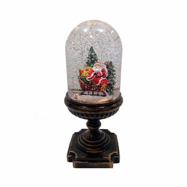 Снежный шар на подставке «Санта»