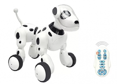 Интерактивная игрушка - робот-собака на радиоуправлении 619 (аккумулятор)