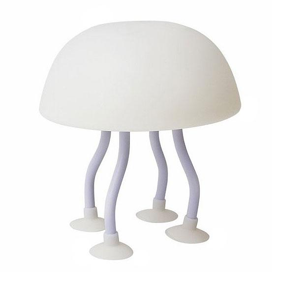 Светодиодный светильник-ночник «Медуза» на присосках