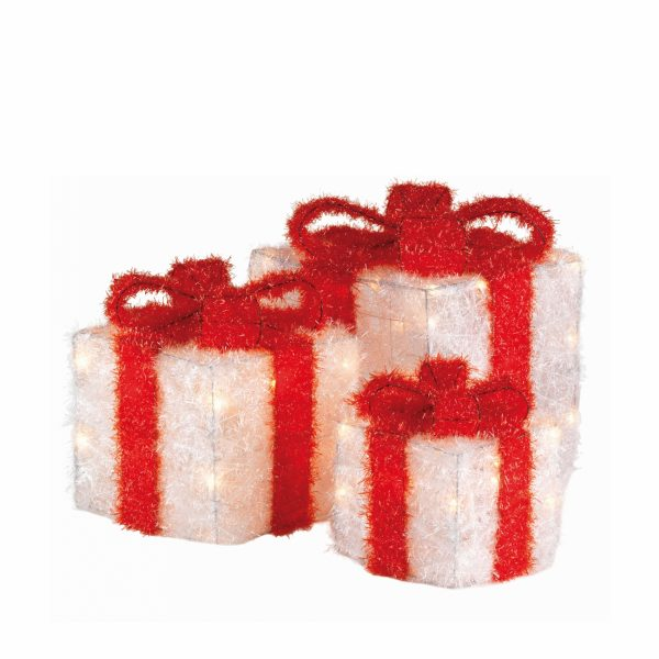 Набор светящихся фигур «Рождественский подарок»