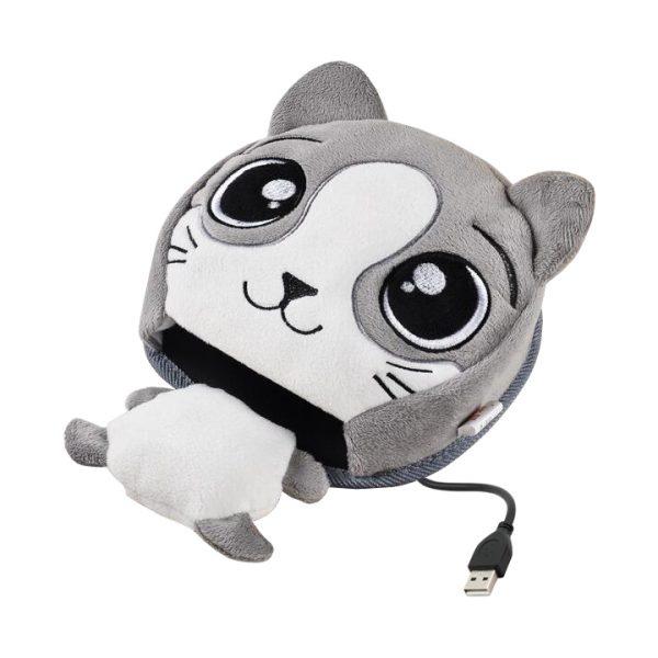 USB коврик для мыши с подогревом (usb варежка)