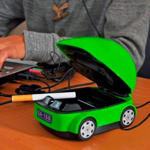 USB пепельница с вытяжкой и фильтром для очистки дыма