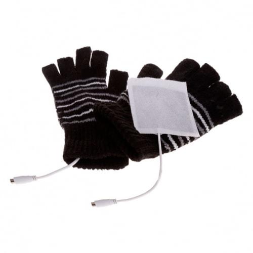USB перчатки с подогревом для ладоней от компьютера, ноутбука