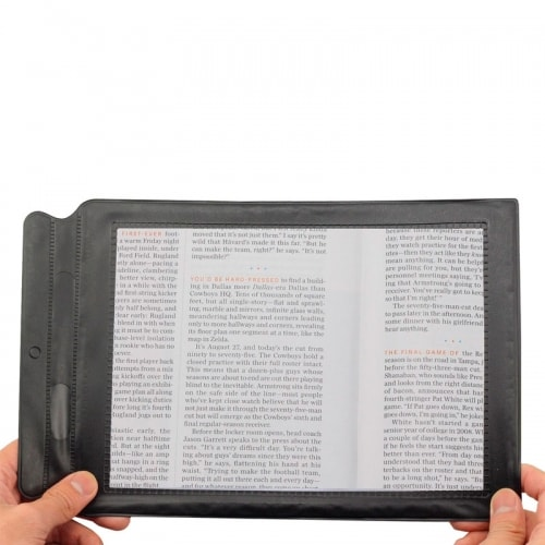 Увеличительная линза Френеля для чтения книг, журналов