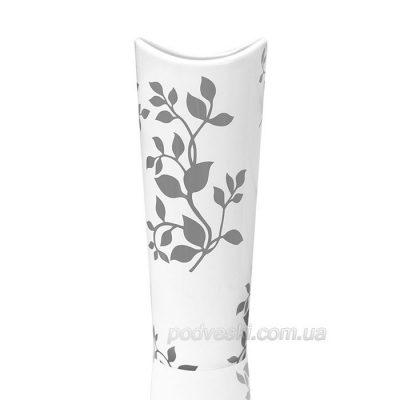 Белая керамическая ваза с узором Eterna «Моне»